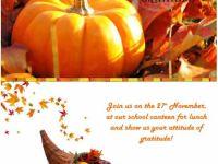 Dia do Inglês – Thanksgiving
