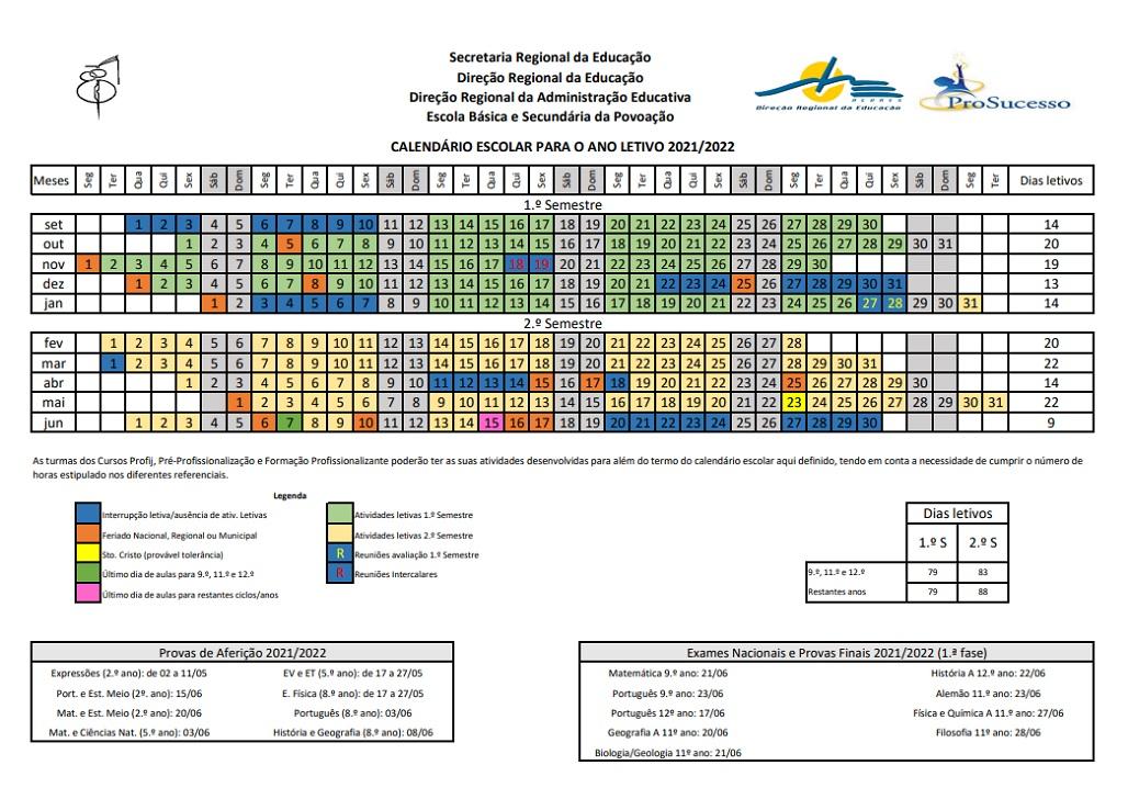 calendário 20-21
