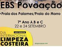 Dia internacional da limpeza costeira – Praia dos Palames/Praia do Morro
